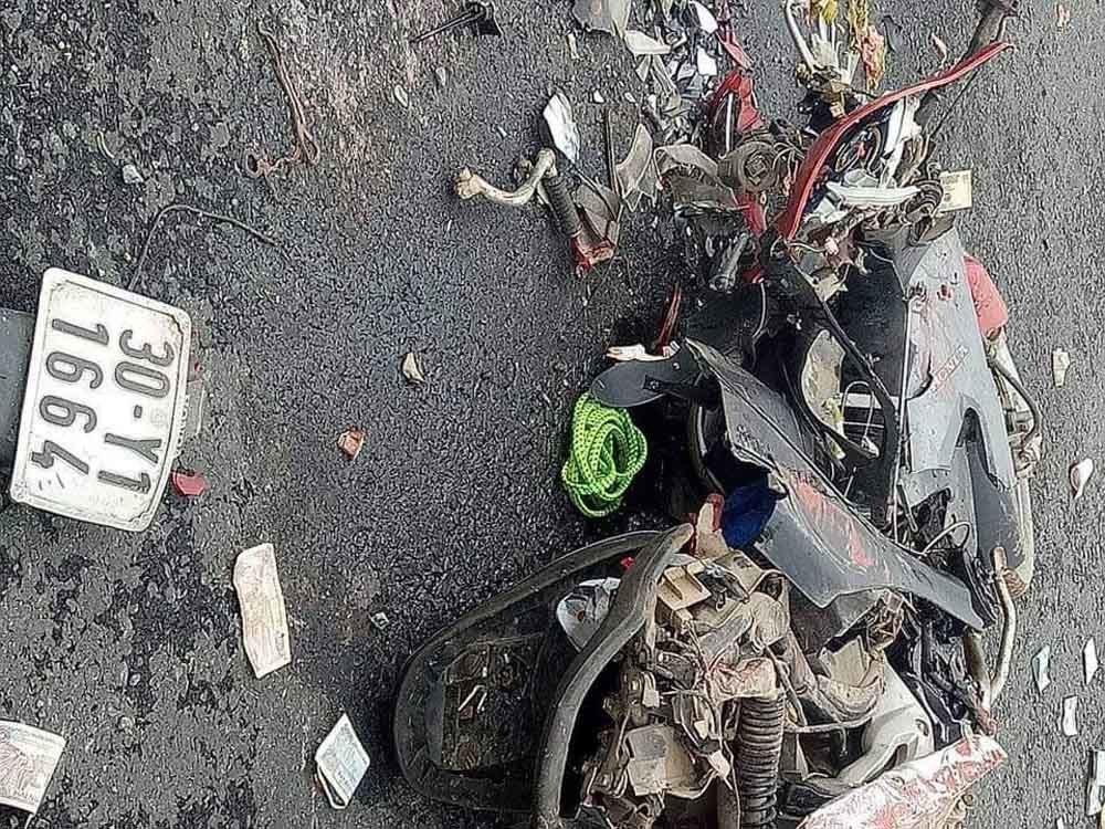 2 phụ nữ bị thùng xe container đè chết tại chỗ Ảnh 1