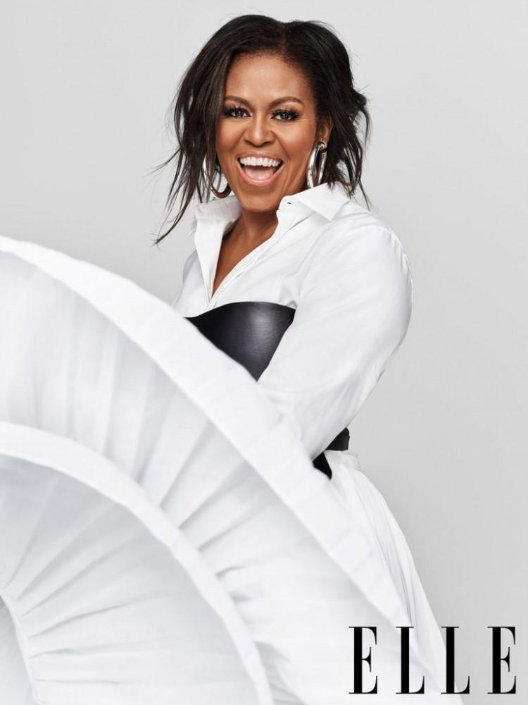Cựu Đệ nhất Phu Nhân Nhà Trắng Michelle Obama tươi trẻ xuất hiện trên tạp chí Ảnh 1