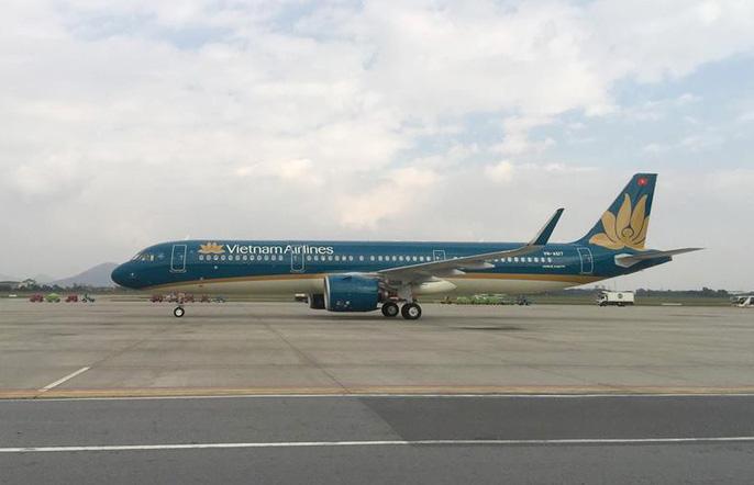 Cận cảnh nghi thức phun nước đón máy bay thế hệ mới Airbus A321neo Ảnh 2