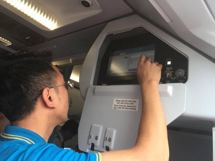 Cận cảnh nghi thức phun nước đón máy bay thế hệ mới Airbus A321neo Ảnh 6