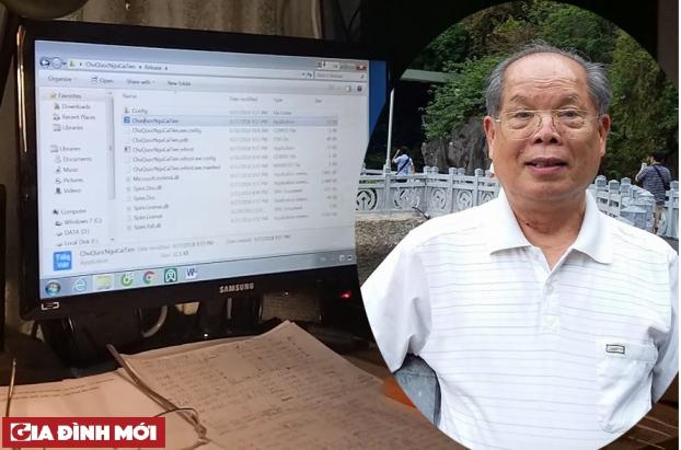 PGS Bùi Hiền công bố đã có phần mềm chuyển đổi 'tiếw Việt' Ảnh 2