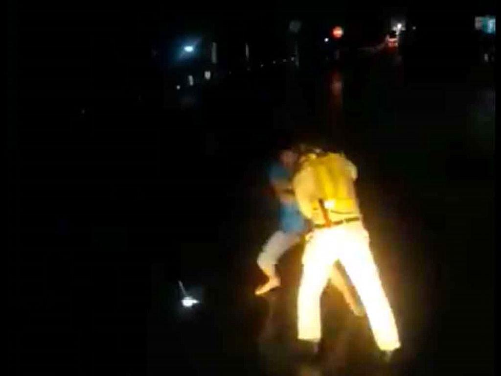 CSGT nói gì về video clip đánh nhau với lái xe ? Ảnh 2