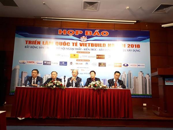 450 doanh nghiệp với 1.600 gian hàng tham gia Vietbuild Hà Nội 2018 Ảnh 1