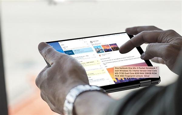 One Mix 2 Yoga: Máy tính 2-trong-1, màn hình 7 inch giá 630 USD Ảnh 3