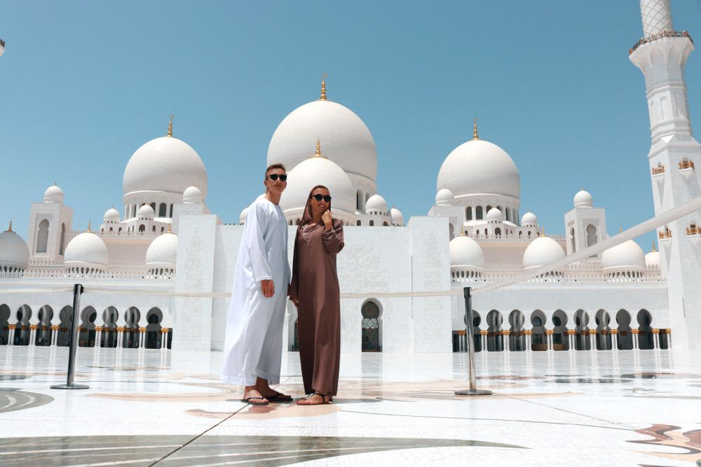 Nhà thờ Hồi giáo độc đáo của vùng Trung Đông Ảnh 14