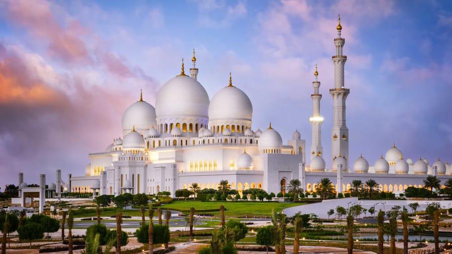Nhà thờ Hồi giáo độc đáo của vùng Trung Đông Ảnh 1