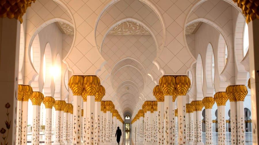 Nhà thờ Hồi giáo độc đáo của vùng Trung Đông Ảnh 6