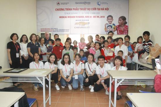 GM Việt Nam mang tới chương trình phẫu thuật miễn phí cho trẻ em hở hàm ếch Ảnh 1