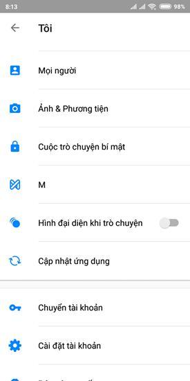 Làm thế nào để ứng dụng chat Facebook trên Android bớt phiền phức hơn Ảnh 3