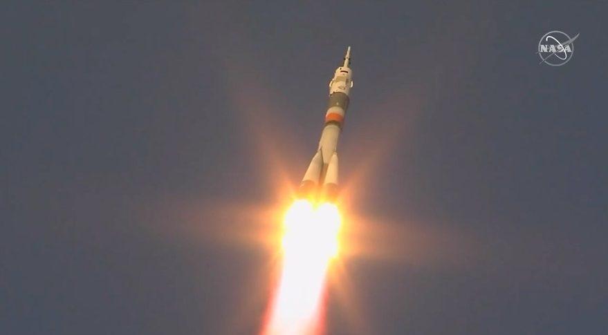 Nga phóng thành công tàu vũ trụ có người lái tới ISS Ảnh 1