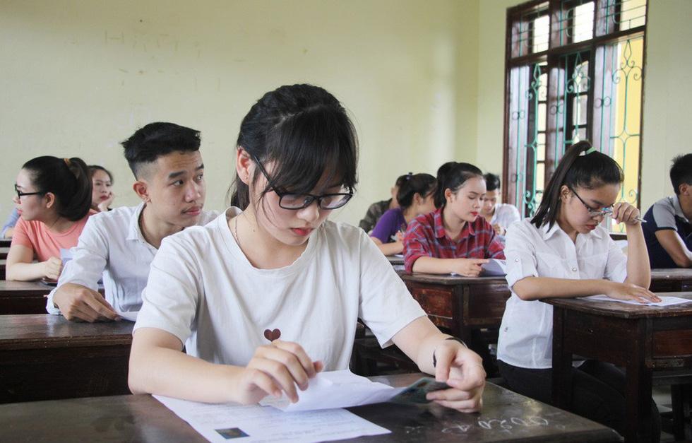 Đề tham khảo môn Văn THPT Quốc gia 2019: Phân loại rõ đối tượng học sinh Ảnh 1
