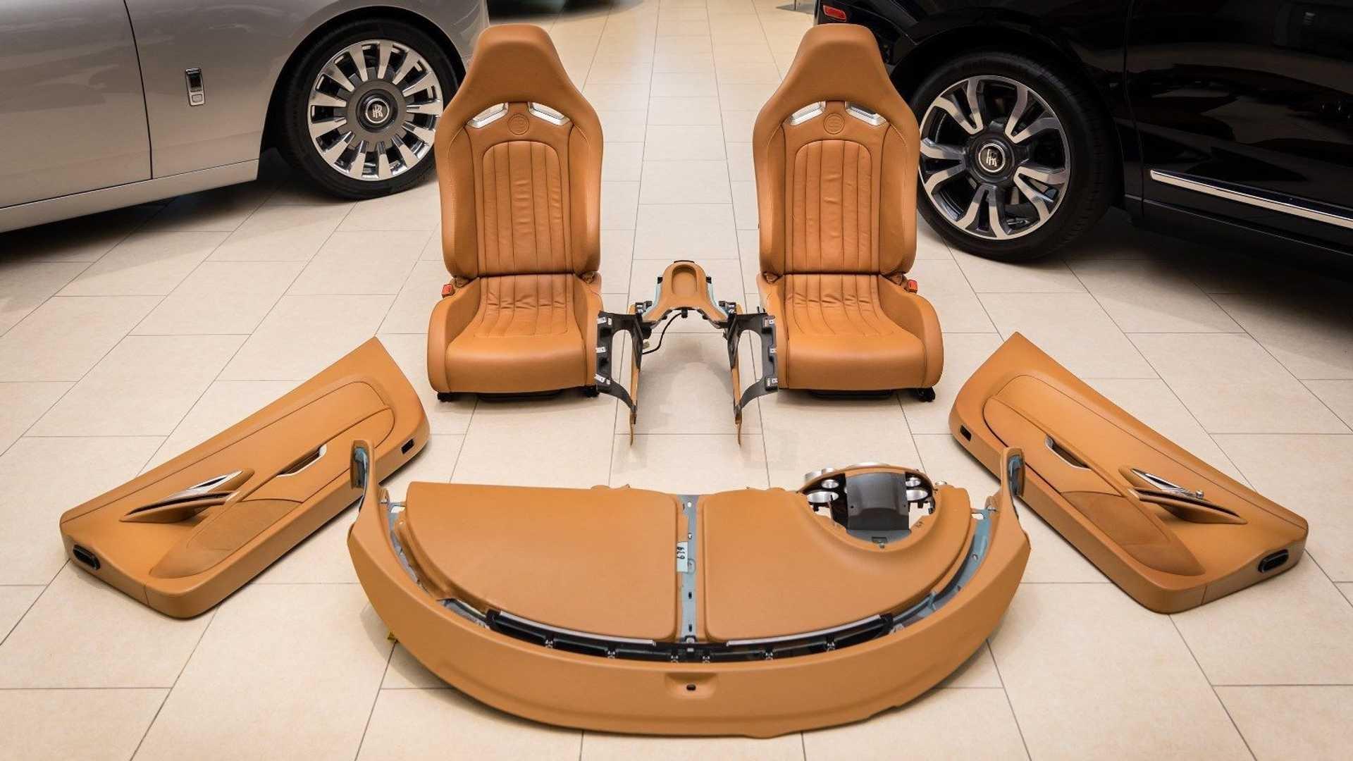 Chi tiết bộ nội thất trị giá 150.000 USD của Bugatti Veyron Ảnh 1