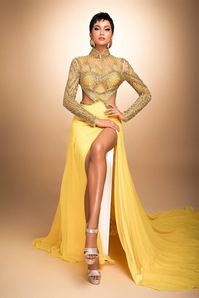 H'Hen Niê thử váy dạ hội, đẹp bí ẩn như nữ hoàng Ai Cập cổ đại Ảnh 9
