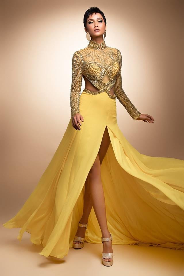 H'Hen Niê thử váy dạ hội, đẹp bí ẩn như nữ hoàng Ai Cập cổ đại Ảnh 13