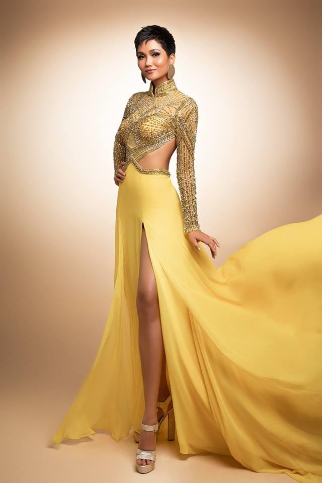 H'Hen Niê thử váy dạ hội, đẹp bí ẩn như nữ hoàng Ai Cập cổ đại Ảnh 11