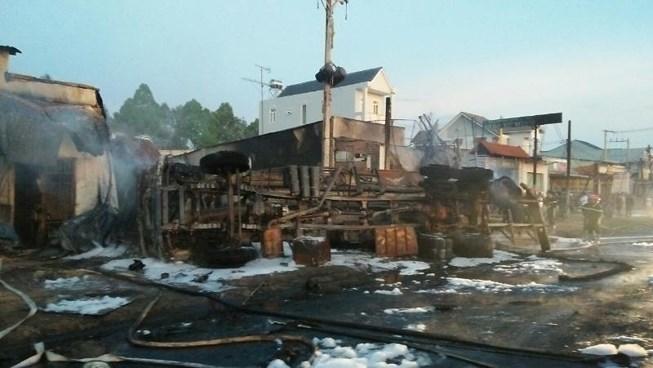 Kết luận vụ xe bồn làm 6 người tử vong ở Bình Phước Ảnh 1