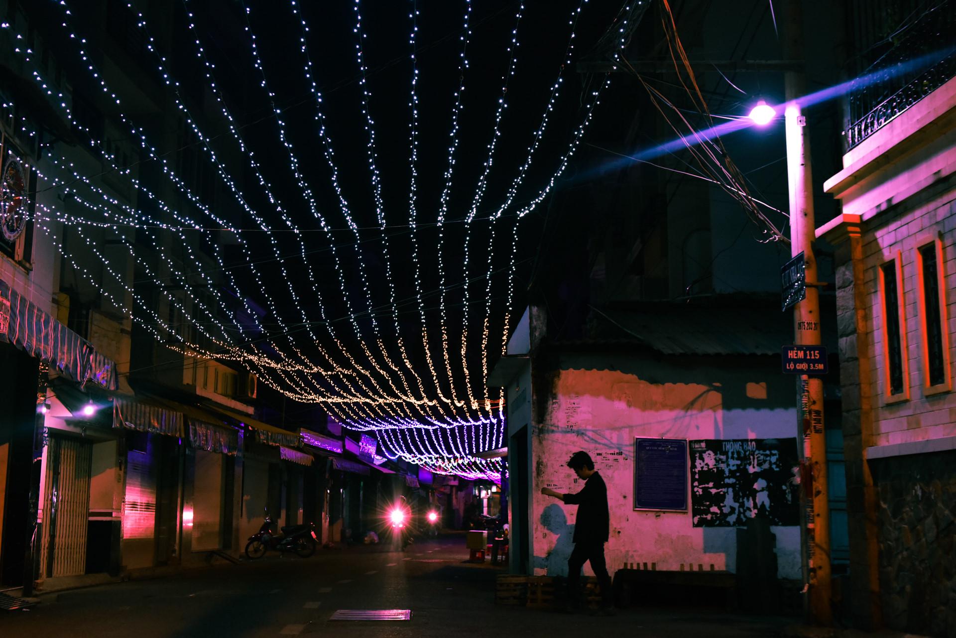 Có một giáng sinh lặng lẽ trong những con hẻm Sài Gòn Ảnh 10