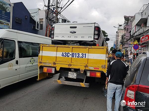 Đà Nẵng: Du khách nước ngoài kinh hãi với cú lùi 'xe điên' như phim Hollywood! Ảnh 7