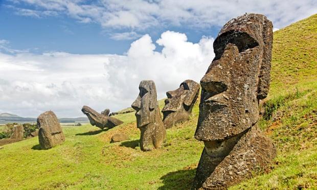 Hé lộ bí ẩn về vị trí tượng đá trên đảo Phục Sinh Ảnh 1