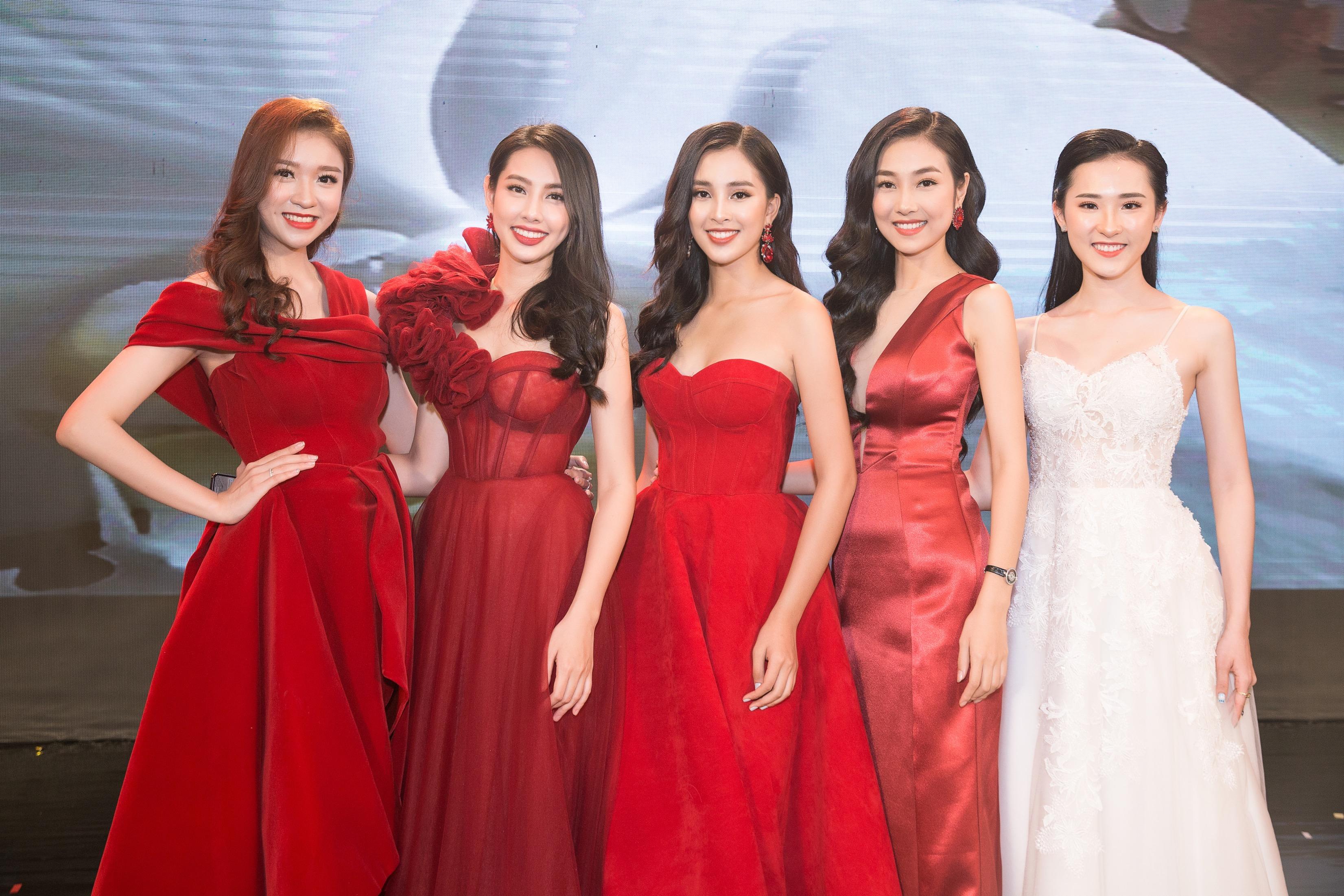 Hoa hậu Tiểu Vy mặc đầm cúp ngực quyến rũ khó tả Ảnh 8