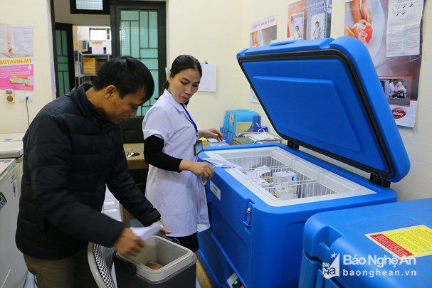 Y tế Quỳnh Lưu chuẩn bị sẵn sàng cho đợt tiêm phòng vắc-xin ComBE Five năm 2019 Ảnh 1