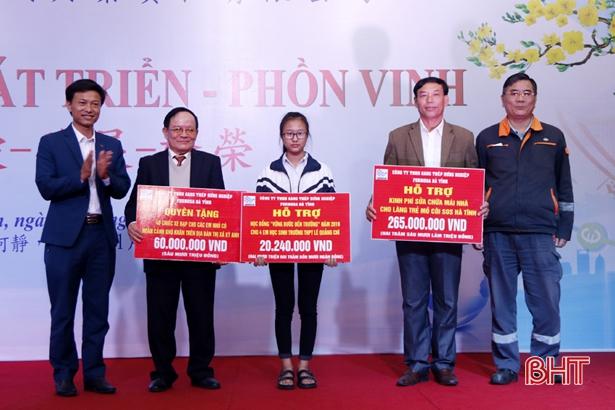 Formosa Hà Tĩnh trao tài trợ công ích với số tiền 2,2 tỷ đồng Ảnh 4