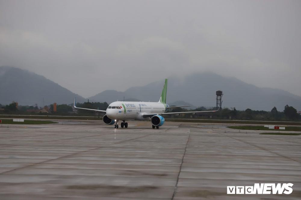 Cận cảnh máy bay Airbus A321NEO của Bamboo Airways Ảnh 1