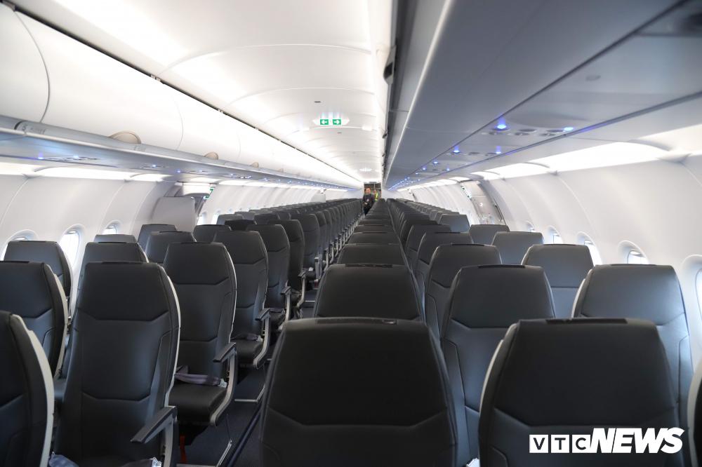 Cận cảnh máy bay Airbus A321NEO của Bamboo Airways Ảnh 6