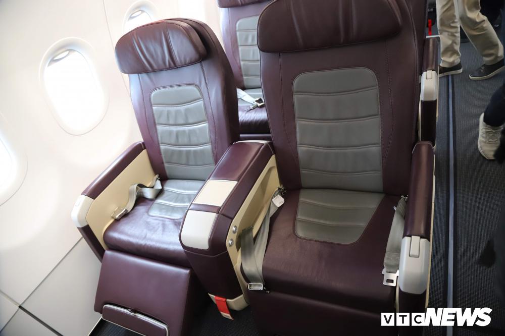 Cận cảnh máy bay Airbus A321NEO của Bamboo Airways Ảnh 9