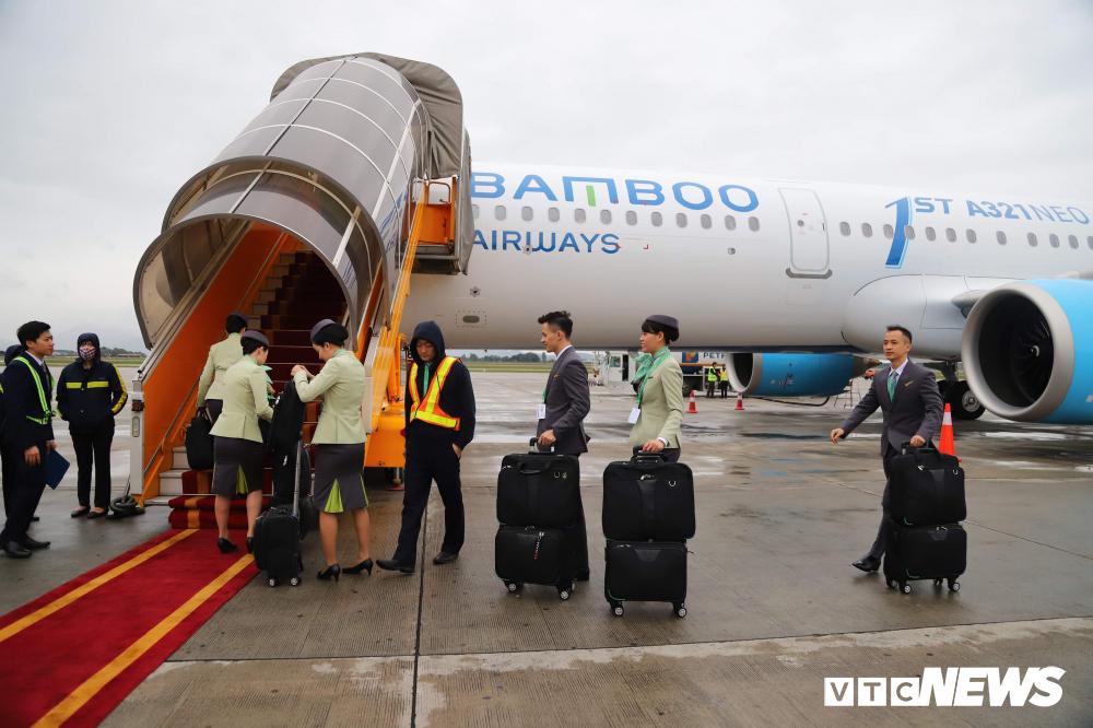 Cận cảnh máy bay Airbus A321NEO của Bamboo Airways Ảnh 11