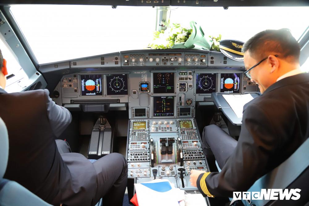 Cận cảnh máy bay Airbus A321NEO của Bamboo Airways Ảnh 10