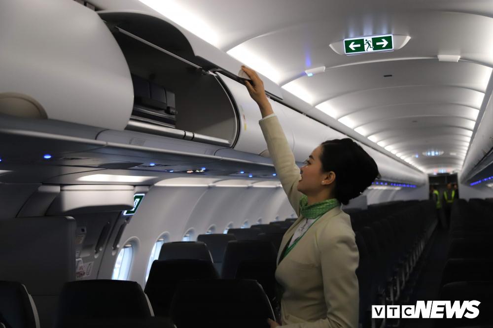 Cận cảnh máy bay Airbus A321NEO của Bamboo Airways Ảnh 7
