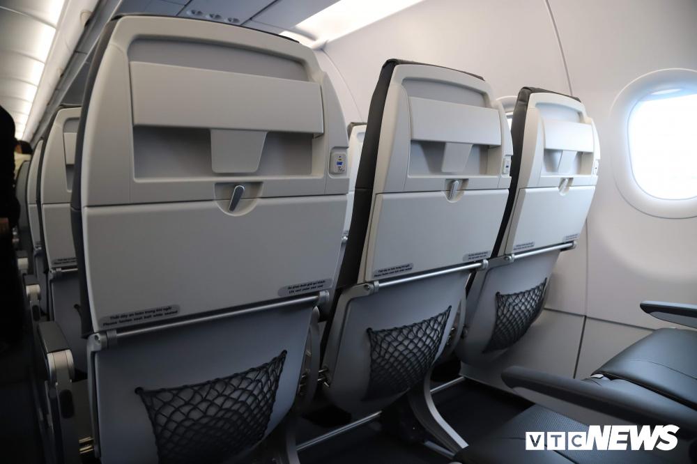 Cận cảnh máy bay Airbus A321NEO của Bamboo Airways Ảnh 8