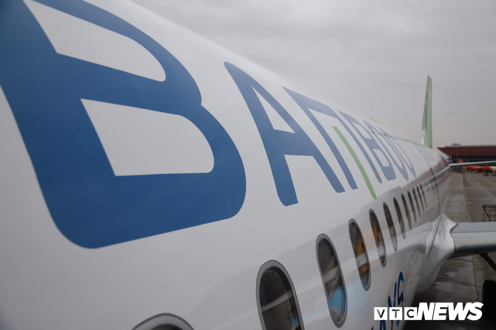 Cận cảnh máy bay Airbus A321NEO của Bamboo Airways Ảnh 3