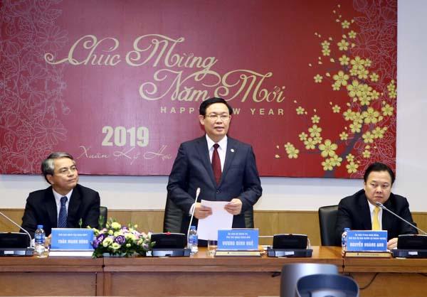 'Xông đất' Ủy ban Quản lý vốn Nhà nước, Phó Thủ tướng lưu ý việc tuyển cán bộ Ảnh 1