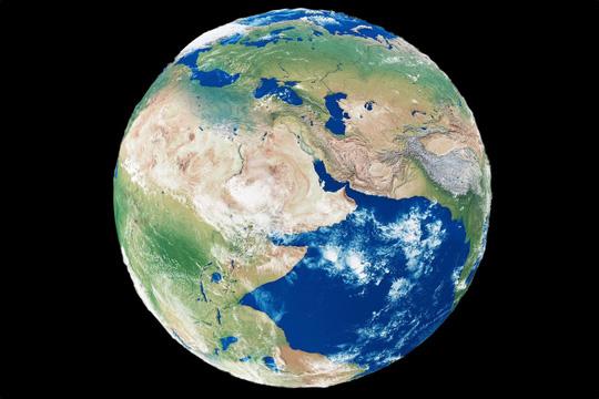 Phát hiện 'siêu đại dương' bị trái đất nuốt chửng Ảnh 1