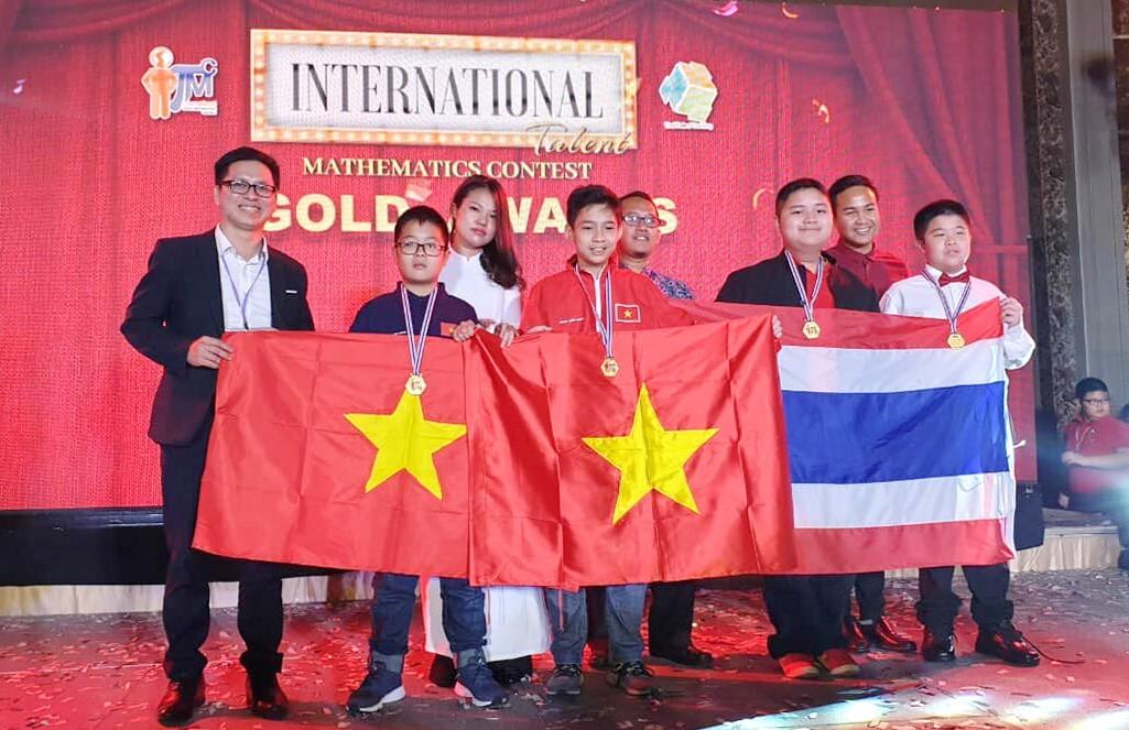 Việt Nam đạt thành tích cao Cuộc thi Tìm kiếm Tài năng Toán học ITMC 2019 Ảnh 1