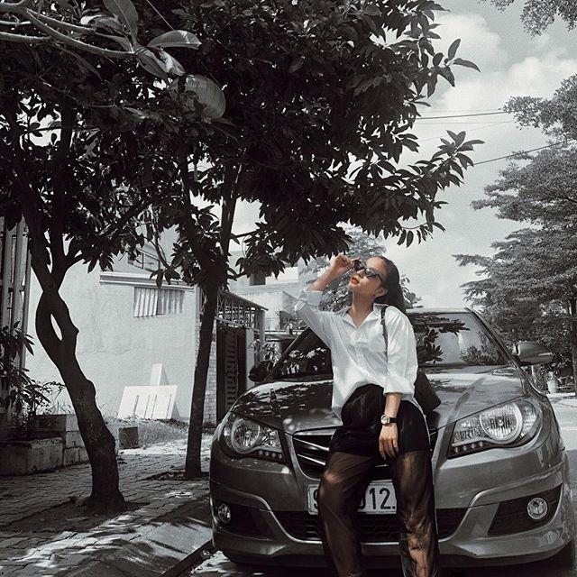 Bạn gái Quang Hải: Xinh như ngọc nữ và phong cách thời trang có '1-0-2' Ảnh 2