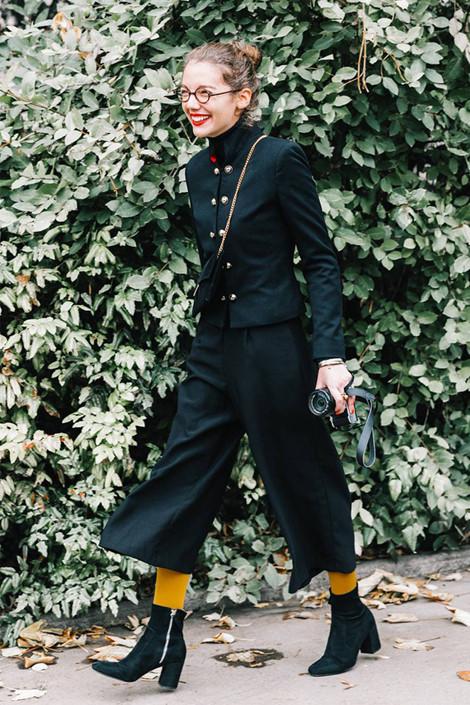 'Thả dáng sành điệu' với quần lửng và boots thời trang cực chất cho nàng Ảnh 5