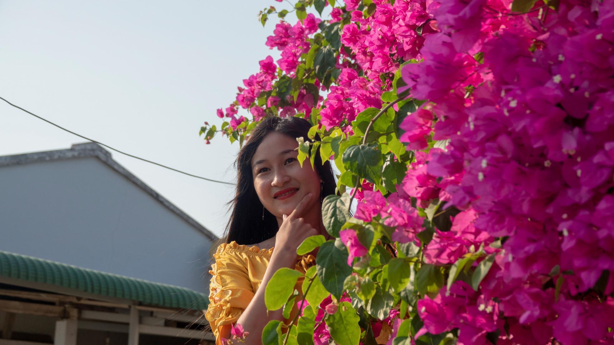 Chiêm ngưỡng 'cụ' hoa giấy trăm triệu ở đảo Lý Sơn Ảnh 8