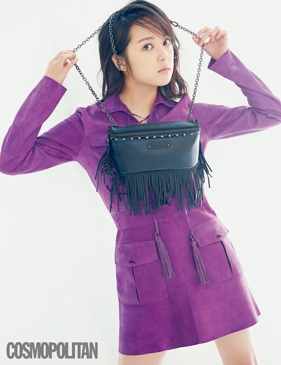 Sulli xinh ngất trong ảnh tạp chí, K-net tố Kim Bora của 'SKY Castle' sao chép phong cách của cô Ảnh 9