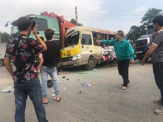 2 người bị thương trong vụ tai nạn liên hoàn trên ĐL Thăng Long đã tử vong Ảnh 1