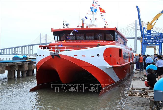 Tàu cao tốc Vũng Tàu - Côn Đảo đã hoạt động trở lại Ảnh 1