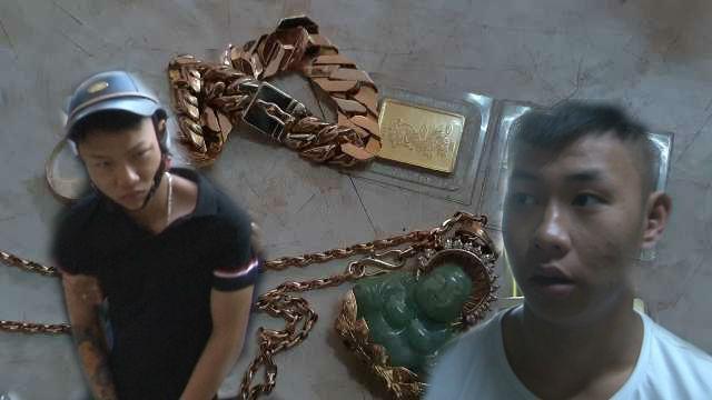 Bắt 2 đối tượng cướp giật nhiều tiền vàng trên phố Ảnh 1