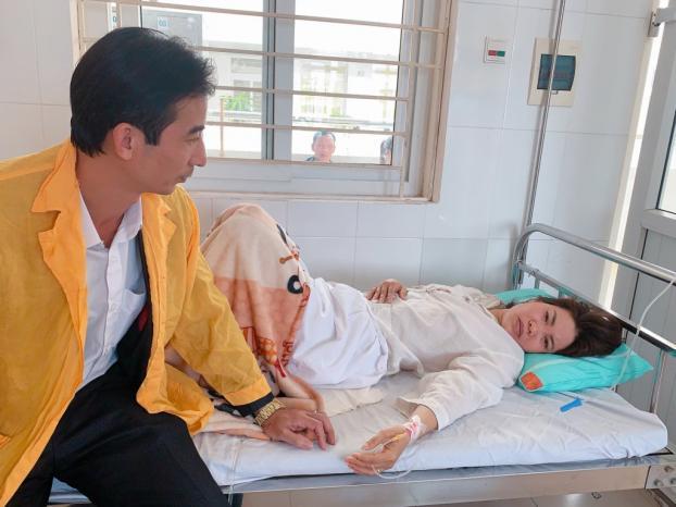 Bệnh nhân có thai trên nền vết mổ cũ, nhau thai 'ăn' thủng tử cung ra ngoài Ảnh 1