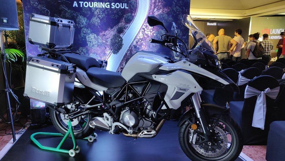 Bộ đôi Benelli TRK 502 và 502X ra mắt tại Ấn Độ Ảnh 9