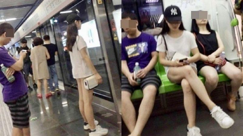 Cô gái khiến người đối diện đỏ mặt không dám nhìn vì cách ăn mặc kỳ quặc này Ảnh 1