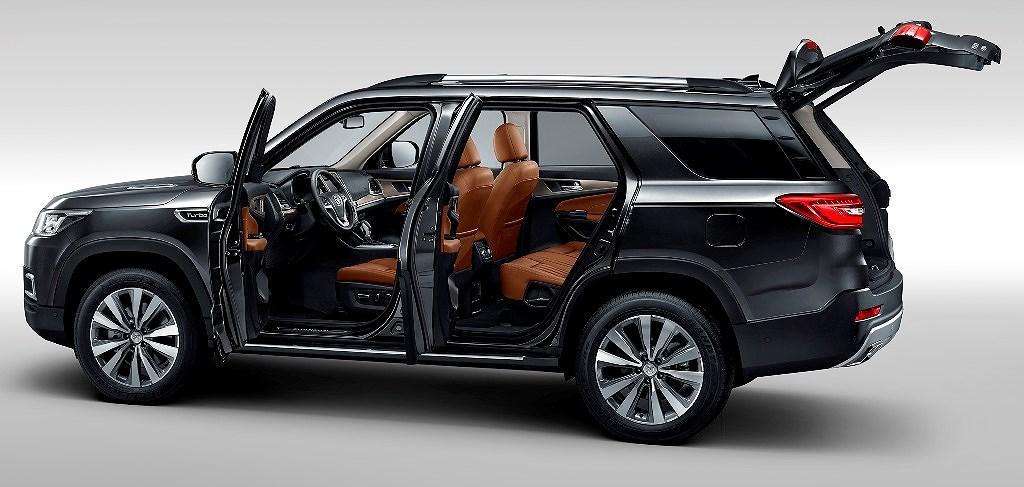 SUV Changan CS95 2019 trình làng giá từ 520 triệu VNĐ Ảnh 9