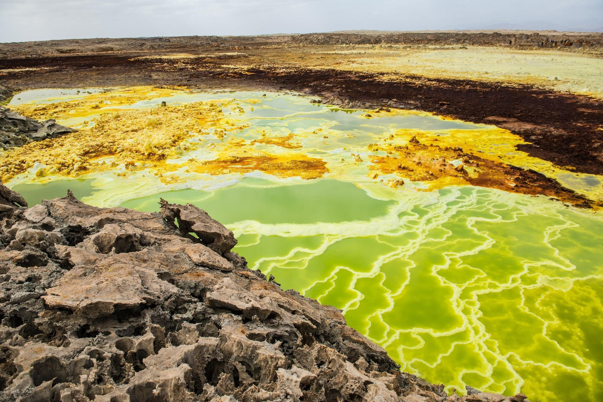 Ethiopia, nơi sở hữu vùng trũng thế giới với nền nhiệt 50 độ C Ảnh 1