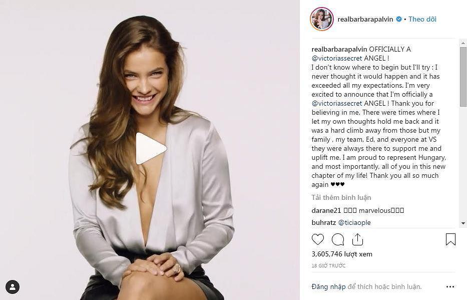 Bất ngờ 'thiên thần' mới của Victoria's Secret sở hữu body đầy đặn và 'bốc lửa' Ảnh 2